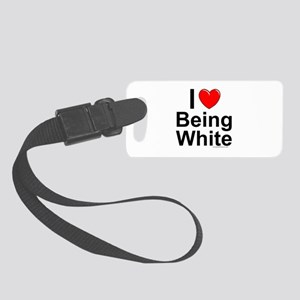 Being White Small Luggage Tag