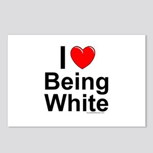 Being White Postcards (Package of 8)