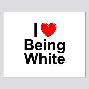 Being White Small Poster