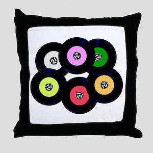 Singles Collection Throw Pillow
