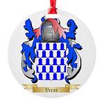 Veras Round Ornament