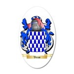 Veras 35x21 Oval Wall Decal