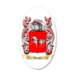 Veralli 35x21 Oval Wall Decal