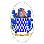 Vera Sticker (Oval 10 pk)