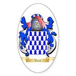 Vera Sticker (Oval 50 pk)