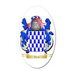 Vera 35x21 Oval Wall Decal