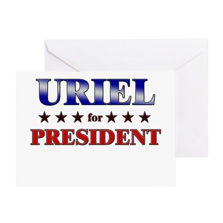 URIEL for president Greeting Card