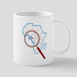 Equatorial Guinea Under A Magnifying Glass Mugs