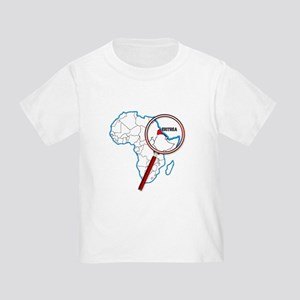 Eritrea Under A Magnifying Glass T-Shirt