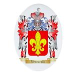 Venturelli Oval Ornament