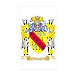 Venner Sticker (Rectangle 50 pk)