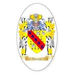Venner Sticker (Oval 50 pk)