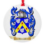 Vennall Round Ornament