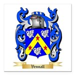 Vennall Square Car Magnet 3