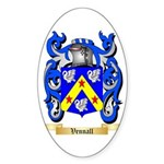 Vennall Sticker (Oval 50 pk)