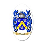Vennall 35x21 Oval Wall Decal