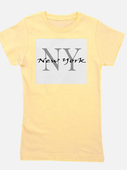 New York thru NY Ash Grey T-Shirt