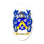 Venel Oval Car Magnet