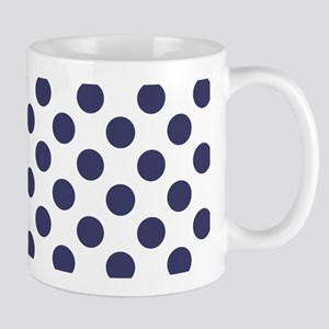 Blue Polka Dot Pattern Mugs