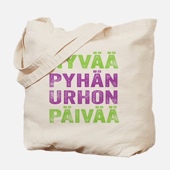 Happy St. Urho's Day! Tote Bag