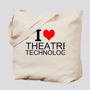 I Love Theatre Technology Tote Bag