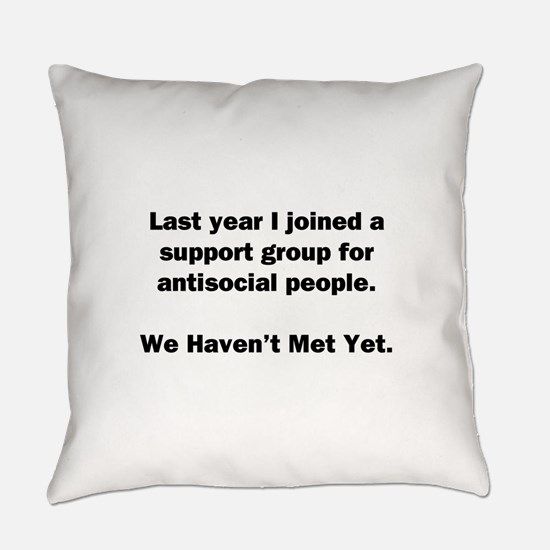 Antisocial Group Everyday Pillow