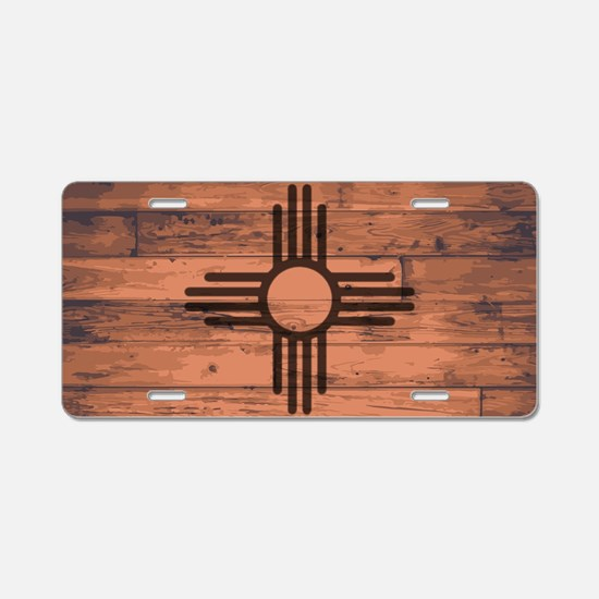 Cute Grains Aluminum License Plate