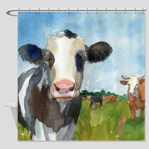 Cow Art Shower Curtains