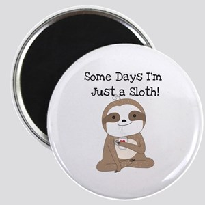 Cute Just a Sloth Magnet