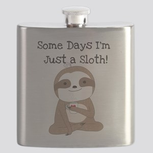Cute Just a Sloth Flask