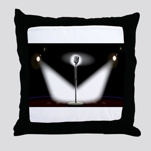 On Stage Throw Pillow