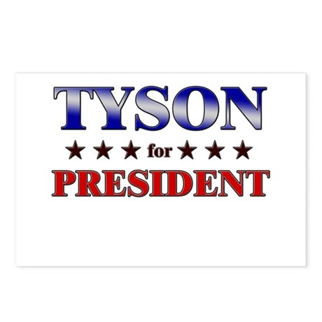 TYSON for president Postcards (Package of 8)