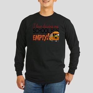 Bus Driver - Empty Bus Long Sleeve T-Shirt