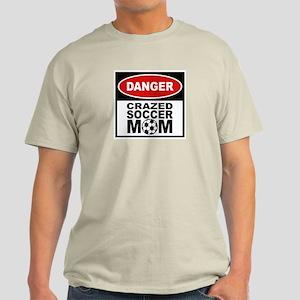 Crazed Soccer Mom Light T-Shirt