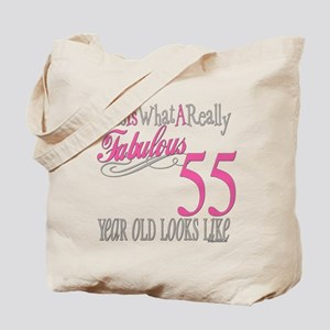 55th Birthday Gifts Tote Bag