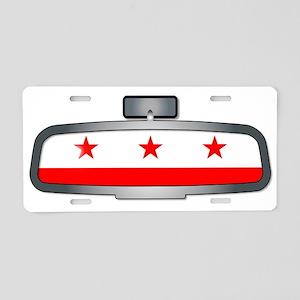 Driving Through Washington Aluminum License Plate