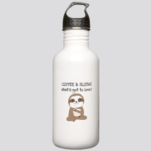 Coffee and Sloths Stainless Water Bottle 1.0L
