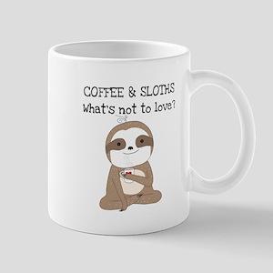Coffee and Sloths Mug