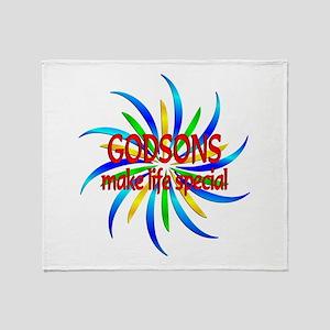 Godsons Make Life Special Throw Blanket