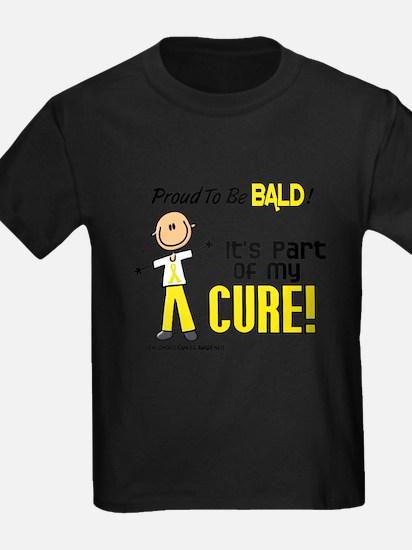 Bald 1 Childhood Cancer (SFT) T-Shirt