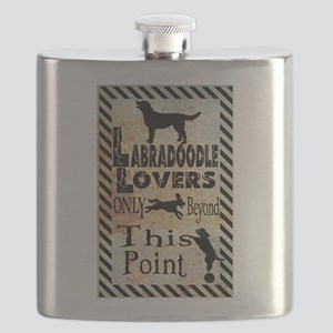 Labradoodle Lovers Flask