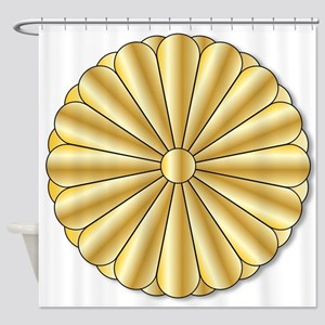 Imperial Seal of Japan Shower Curtain