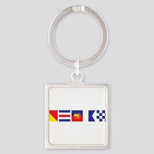 Say it for the Ocean Square Keychain