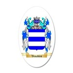 Venables 20x12 Oval Wall Decal