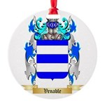 Venable Round Ornament