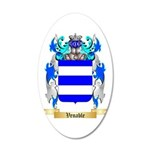 Venable 20x12 Oval Wall Decal