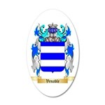 Venable 35x21 Oval Wall Decal