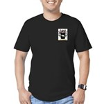 Velyashev Men's Fitted T-Shirt (dark)