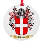 Veltman Round Ornament
