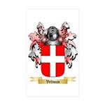 Veltman Sticker (Rectangle 50 pk)